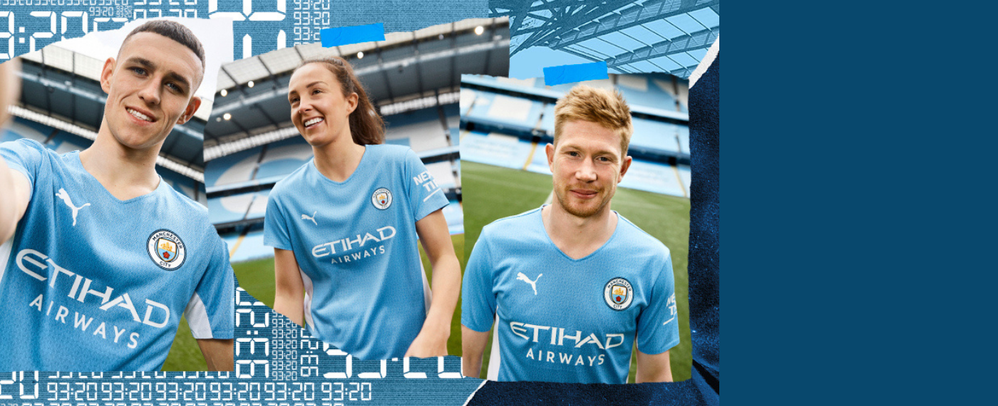 Manchester City home collectie